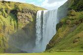 Skogafoss waterfall, Iceland — Stock Photo