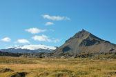 Góra snaefellsjokull 1446 m wysokości. — Zdjęcie stockowe