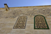 Ancient facade in Old City of Jerusalem. — Stock Photo