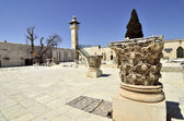 On Temple Mount in Jerusalem. — Stock Photo