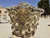 Ancient pillar on Temple Mount in Jerusalem. — Stock Photo