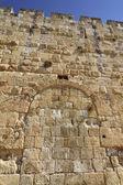 Hudlah gates, Old City of Jerusalem. — Stock Photo
