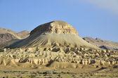 Negev desert landscape. — Stock Photo