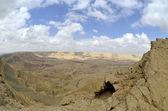 The Big Crater in Negev desert. — Stock Photo