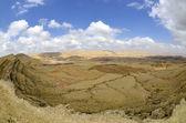 The Big Crater in Negev desert. — Stok fotoğraf
