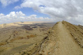 The Big Crater in Negev desert. — Foto de Stock
