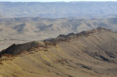 Negev desert landscape. — Stock Photo