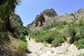 Amud gorge in Galilee, Israel — Stock Photo