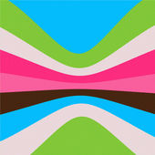 Retro striped background — Stock Photo