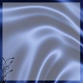 Blue silk — Stock Photo
