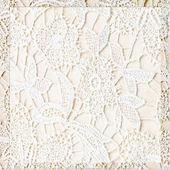 Beyaz dantel arka plan — Stok fotoğraf