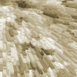 Yellow beige blocks — Stock Photo