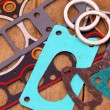 Stock Photo: Gaskets for engine repair