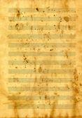 音乐文件 — 图库照片