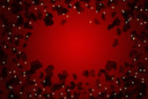 Red valentines day background for input text — Photo