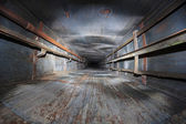 Lift shaft abandoned — Foto de Stock