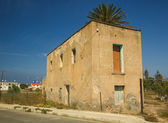 Stone ancient house in Paphos, Cyprus — Stock Photo
