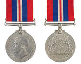 The Defence Medal — Stock Photo