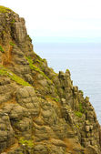 Rocky Coastal Cliff Top — Stock Photo
