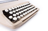 Typewriter — Stock Photo