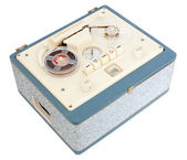 Open Reel Tape Recorder — Stock Photo