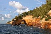 Lakeshore national de roches sur la photo — Photo