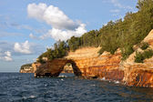 Pictured Rocks National Lakeshore — 图库照片