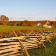 Stock Photo: Farmstead at Gettysburg