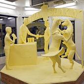 Butter Sculpture — Stock Photo