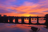 Sunrise at Harrisburg — Stock Photo