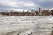 Ice Breaking at Harrisburg — Photo