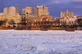 Breaking Ice at Harrisburg — Zdjęcie stockowe