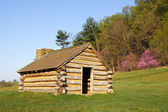 Valley Forge Cabin — Stock Photo