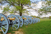 Cannons at Valley Forge — Stock Photo