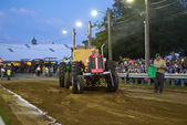 Vintage Tractor Pull — Stock Photo