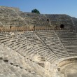 Stock Photo: Theater ruins in Hieropolis