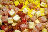 Sweet turkish delights — Stock Photo