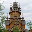 Man's monastery. Monastic village completely constructed of a tree. — Stock Photo #30462743