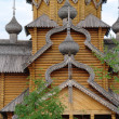 Man's monastery. Monastic village completely constructed of a tree. — Stock Photo #30462781