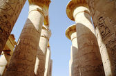 Great Hypostyle Hall at the Temples of Karnak (ancient Thebes). Luxor, Egypt — Foto de Stock