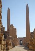 Obelisks at the Temple of Karnak — Stockfoto
