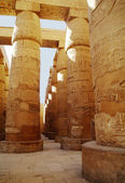 Great Hypostyle Hall at the Temples of Karnak (ancient Thebes). Luxor, Egypt — Stok fotoğraf
