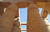 Great Hypostyle Hall at the Temples of Karnak (ancient Thebes). Luxor, Egypt — ストック写真