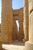Great Hypostyle Hall at the Temples of Karnak (ancient Thebes). Luxor, Egypt — Stockfoto