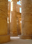 Great Hypostyle Hall at the Temples of Karnak (ancient Thebes). Luxor, Egypt — 图库照片
