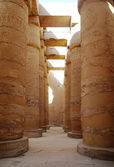 Great Hypostyle Hall at the Temples of Karnak (ancient Thebes). Luxor, Egypt — Foto Stock