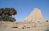 Sacred lake in Karnak — Stockfoto