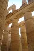 Great Hypostyle Hall at the Temples of Karnak (ancient Thebes). Luxor, Egypt — Stock Photo