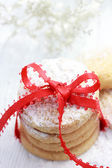 Biscuits de noël en poudre — Photo
