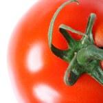 Tomato Top  Isolated on White — Stock Photo #13773505